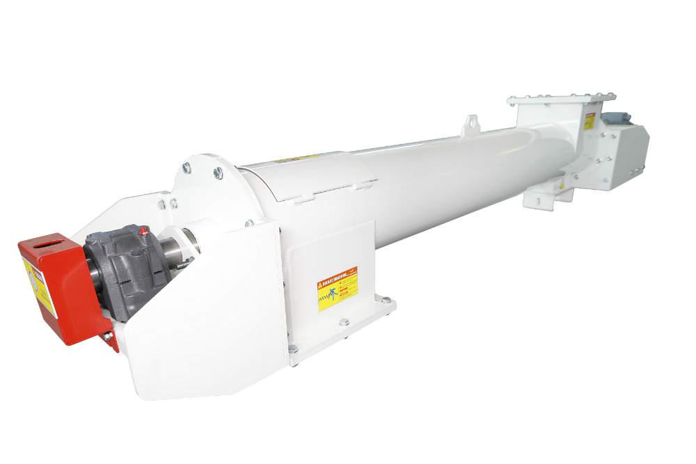 Carbon Steel Tubular Screw Conveyor